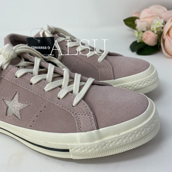 Converse One Star Suede Low Top Diffused Taupe W NWT